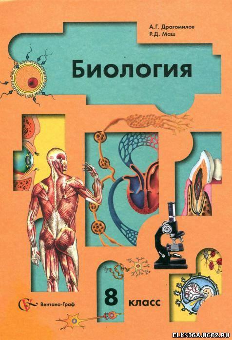 Гдз по биологии 8 класс учебник